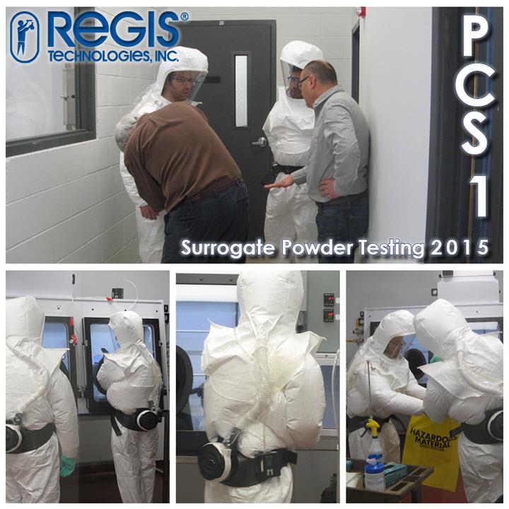 Potent Compounds Suite 1 Surrogate Powder Testing with Staybridge Consultants