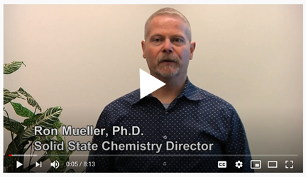 Pharmaceutical solid state chemistry – the study of functional relationships between the synthesis, structure, and properties of solid phase materials – plays a crucial role in successful drug development and commercialization.
